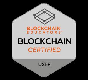 Blockchain Educators Blockchain User Certification